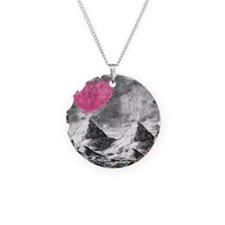 I Lava You Necklace Circle Charm