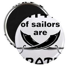 Sailors are pirates Magnet