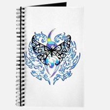 BLACK BUTTERFLY BLUE FLAME 2 Journal