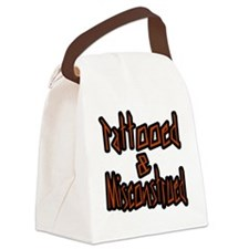 Tattooed And Misconstrued Canvas Lunch Bag