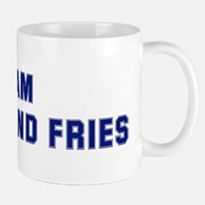 Team BURGER AND FRIES Mug