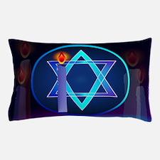 Sharp Star Of David - Light Pillow Case