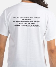 """Verdict"" Quote on BACK - Shirt"