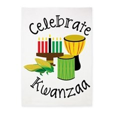 Celebrate Kwanzaa 5'x7'Area Rug