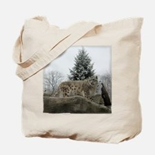 snow leopard majesty Tote Bag