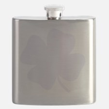 St Patricks Shamrock Flask