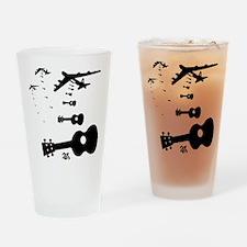 Uke Bombers Drinking Glass