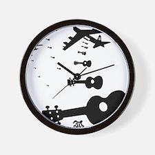 Uke Bombers Wall Clock
