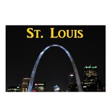St Louis Gateway Arch Postcards (Package of 8)