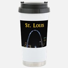 St Louis Gateway Arch Stainless Steel Travel Mug