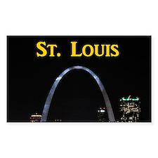 St Louis Gateway Arch Decal