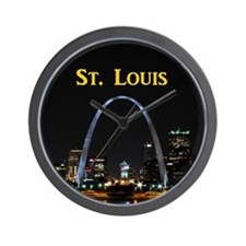St Louis Gateway Arch Wall Clock