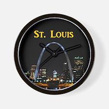 St Louis Gateway Arch Wall Clock