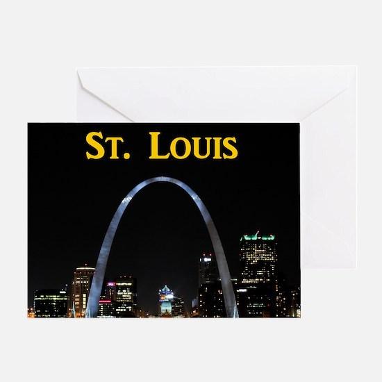 St Louis Gateway Arch Greeting Card