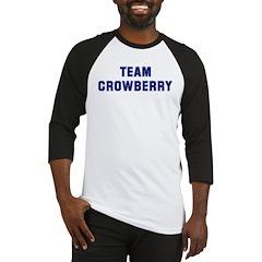 Team CROWBERRY Baseball Jersey