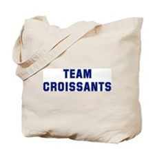 Team CROISSANTS Tote Bag