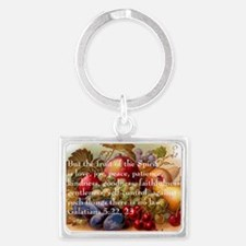 Fruit of the Spirit Landscape Keychain