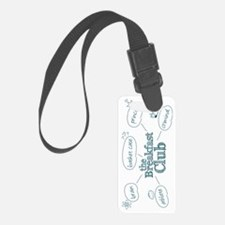 Breakfast Club Doodle Luggage Tag