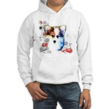 Pembroke Welsh Corgi Puppy with Hoodie
