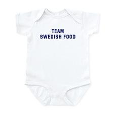 Team SWEDISH FOOD Infant Bodysuit