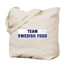 Team SWEDISH FOOD Tote Bag