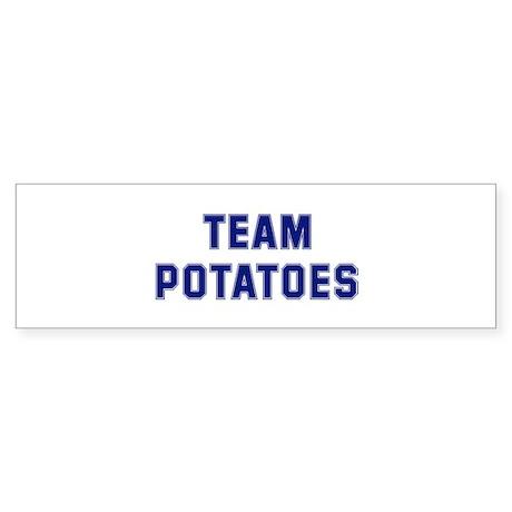 Team POTATOES Bumper Sticker