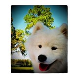 Samoyeds Fleece Blankets