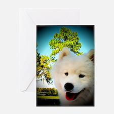 Chi Samoyed Greeting Card