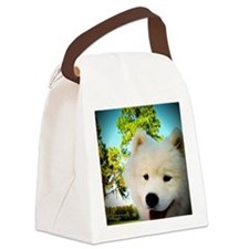Chi Samoyed Canvas Lunch Bag