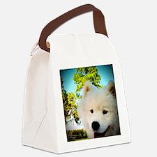 Chi Samoyed Canvas Lunch Bag