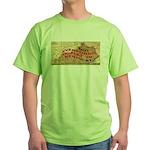 Flat Kentucky Green T-Shirt