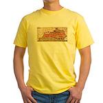 Flat Kentucky Yellow T-Shirt