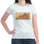 Flat Kentucky Jr. Ringer T-Shirt