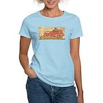 Flat Kentucky Women's Light T-Shirt
