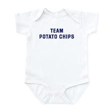 Team POTATO CHIPS Infant Bodysuit