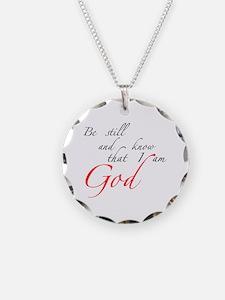 Be still Necklace