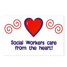 Social Workers Postcards (Package of 8)
