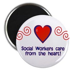 """Social Workers 2.25"""" Magnet (10 pack)"""
