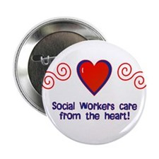 """Social Workers 2.25"""" Button (10 pack)"""