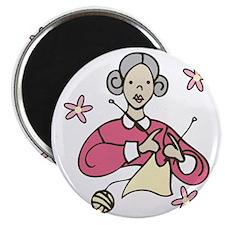 Grandma Knits Magnet