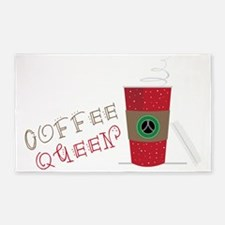 Coffee Queen 3'x5' Area Rug