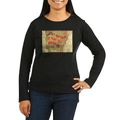 Flat Arkansas T-Shirt