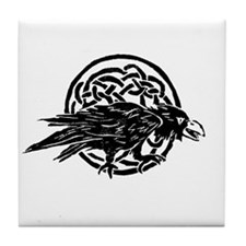 Raven Dreams Tile Coaster