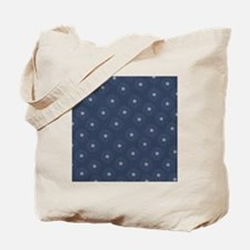 Blue and White Daisies Tote Bag