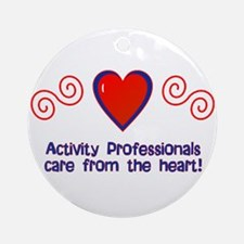 Activity Professionals Ornament (Round)