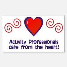 Activity Professionals Rectangle Decal