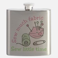 Sew Much Fabric Flask
