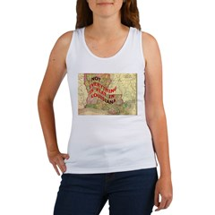 Flat Louisiana Women's Tank Top