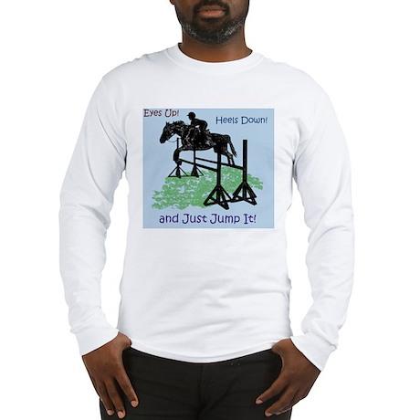 Fun Hunter/Jumper Equestrian H Long Sleeve T-Shirt