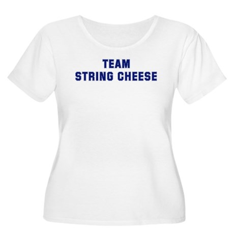 Team STRING CHEESE Women's Plus Size Scoop Neck T-